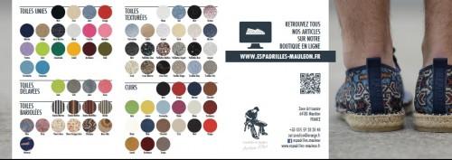 Nuancier de couleur catalogue Prodiso