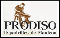 Prodiso, espadrilles de mauléon